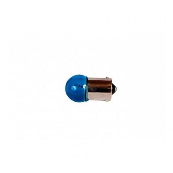 Lámpara piloto 12v 5w ba15s azul. blister 2 unidades.