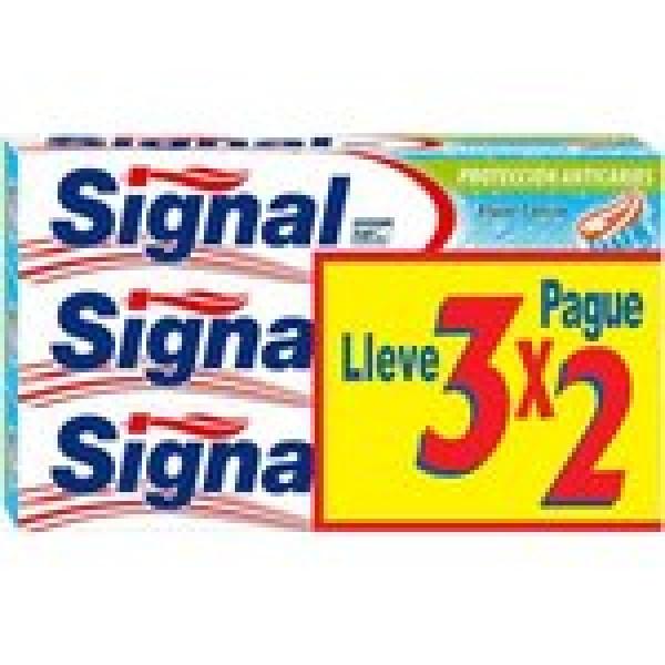 Signal dentífrico  anticaries 3x2 75ml