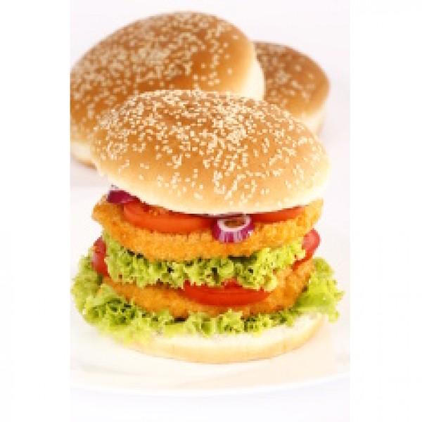 Hamburguesa de pollo producción ecológica (4 uds. bandeja 0,4 kg)bandeja de 4 unidades