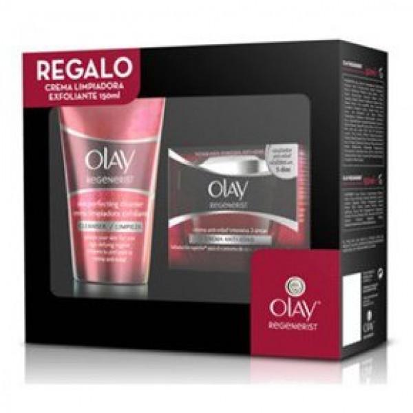 Olay regenerist 3 zonas 50ml + crema limpiadora 150ml