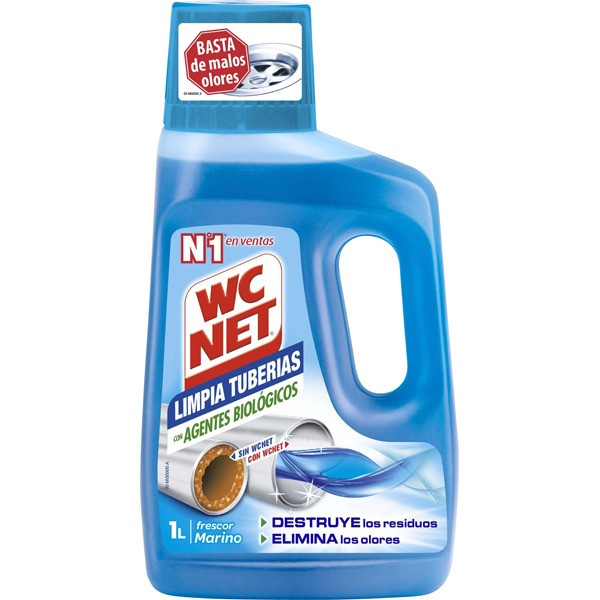 Wc net limpia tuberias 1000ml