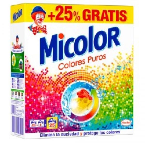 Micolor maleta 20+5 colores puros