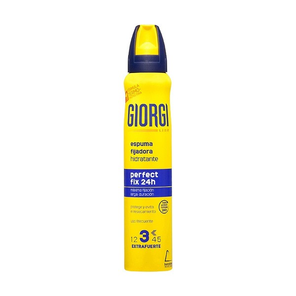 Giorgi line espuma fijadora hidratante perfect fix 24h 210ml