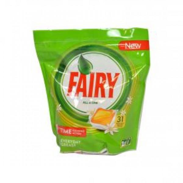 Fairy lavavajillas todo en uno naranja 31 capsulas