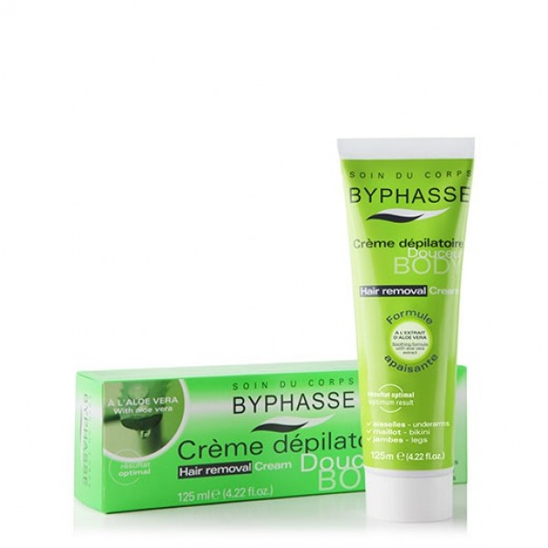 Crema depilatoria byphasse aloe vera 125ml