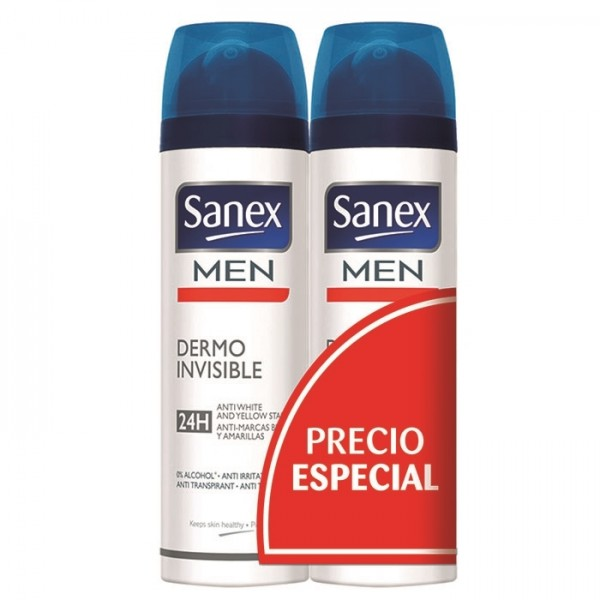 Sanex men active control 48h spray 2 ud.