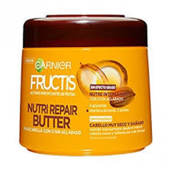 Garnier fructis mascarilla nutri repair butter 300ml