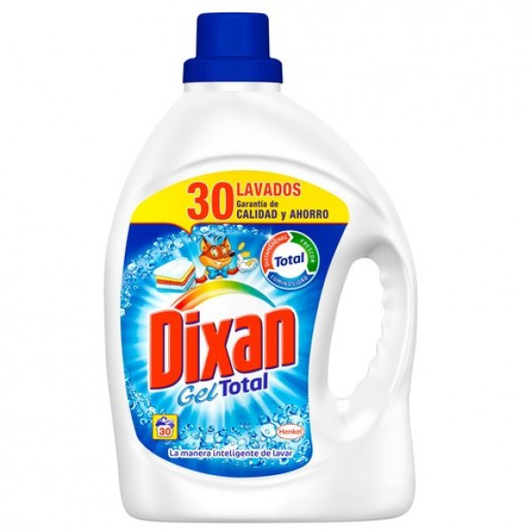 Dixan gel total 30 lavados