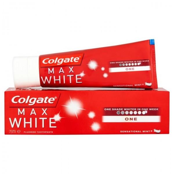 Colgate max white one pasta dentifrica 75ml