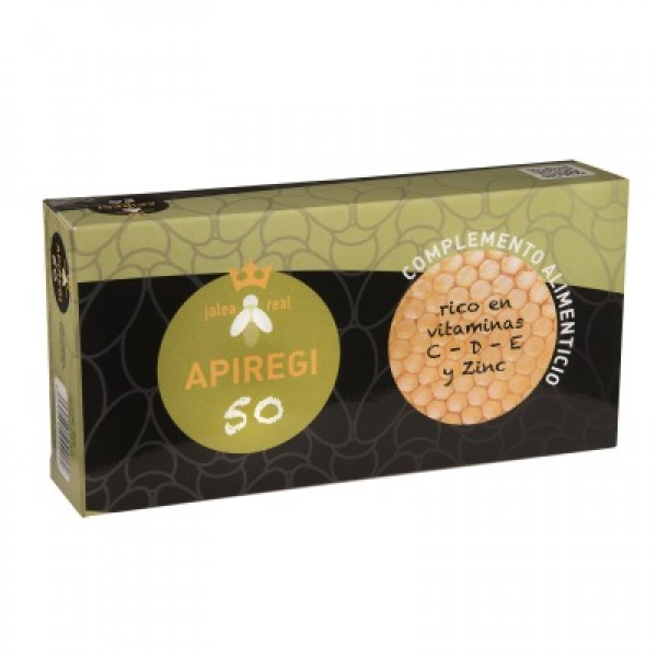 Apiregi-50 (jalea + vit. + minerales) bebible 24x10 ml