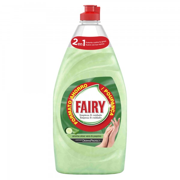 Fairy lavavajillas aloe vera y pepino 500 ml