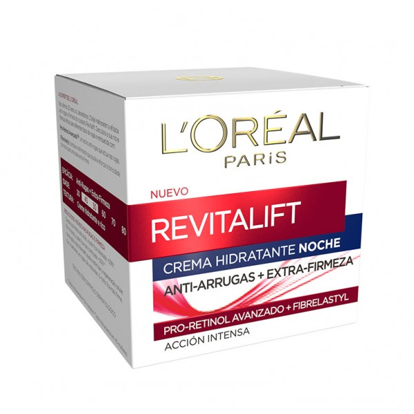 L'oreal paris revitalift crema hidratante noche acción intensa 50 ml