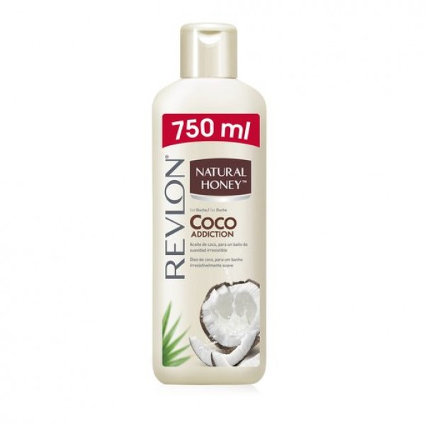 Natural honey gel aceite de coco 750 ml.