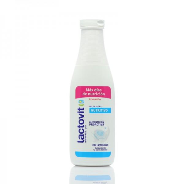 Lactovit gel ducha nutritivo 600 + 120ml