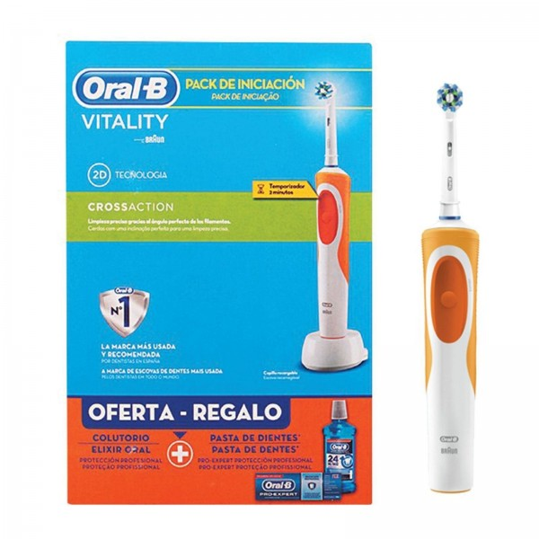 Oral-b vitality cross action pack -naranja