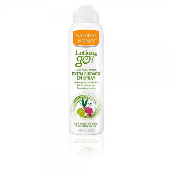 Natural honey lotion go spray extra cuidado 200ml.
