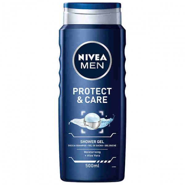 Nivea men gel de ducha protect & care 500 ml