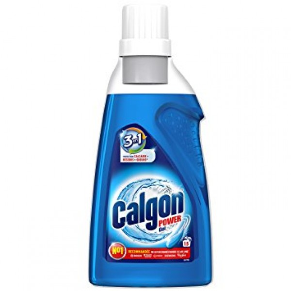 Calgon power gel 3 en 1 15 lavados 750 ml