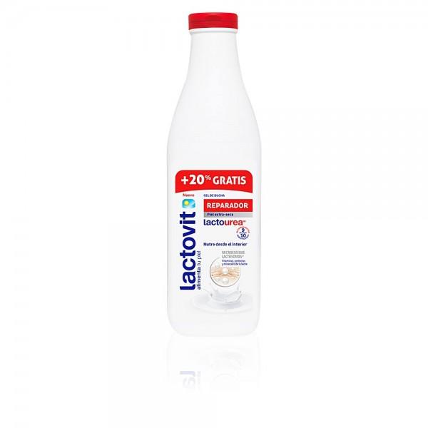 Lactovit gel ducha reparador lactourea 600+20ml