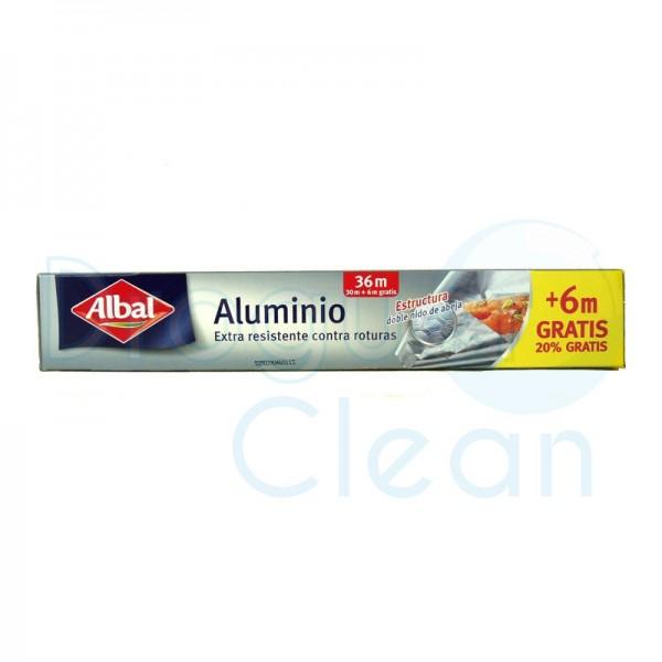 Papel aluminio albal 30m + 6m gratis