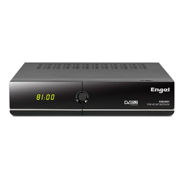 Engel rs8100y receptor satélite dvb-s2 en hd funciones iptv pvr thimeshift usb dongle wifi ethernet hdmi audio digital
