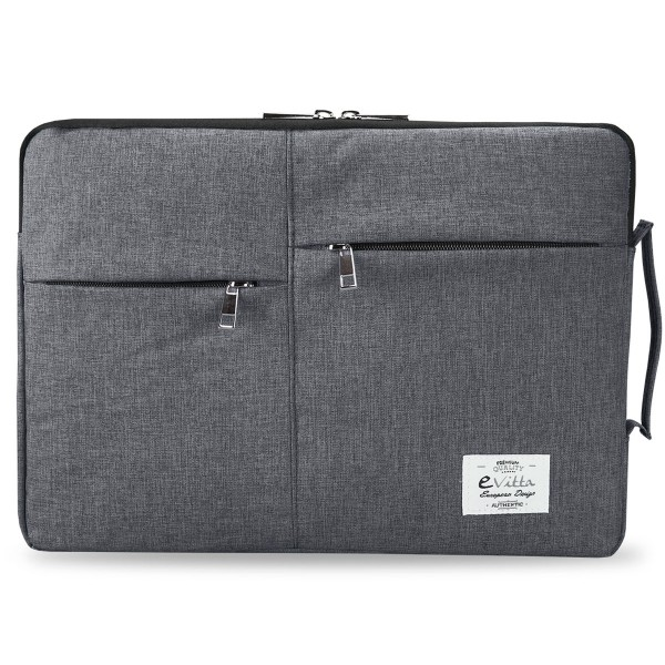 E-vitta evls000251 top sleeve funda gris de diseño para portátiles de 10'' a 12.5''