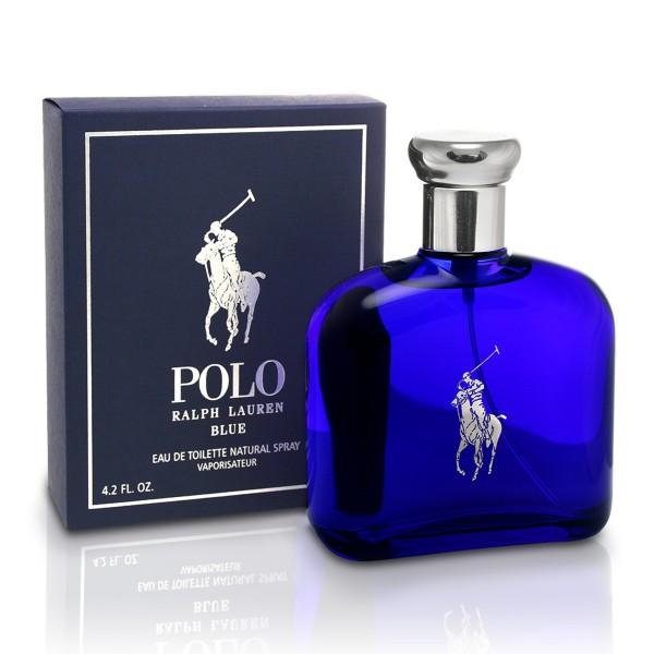 Ralph lauren polo blue eau de toilette pour homme 125ml vaporizador