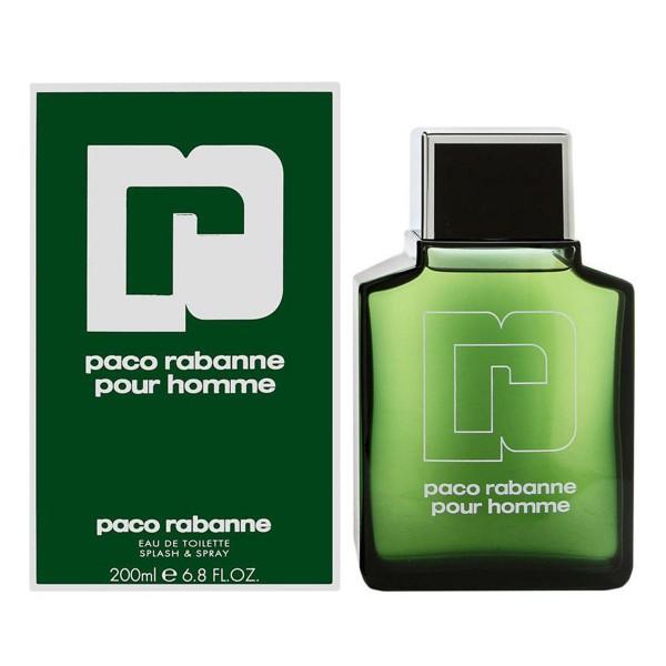 Paco rabanne homme eau de toilette 200ml vaporizador