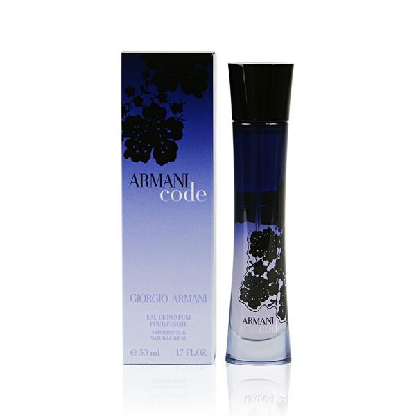 Giorgio armani code eau de parfum pour femme 50ml vaporizador