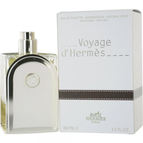 Hermes paris voyage eau de toilette 100ml vaporizador