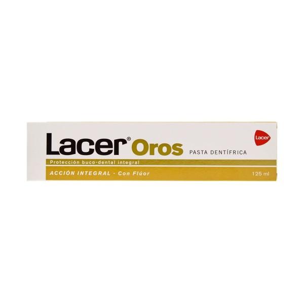 Lacer oro dentifrico con fluor 125ml