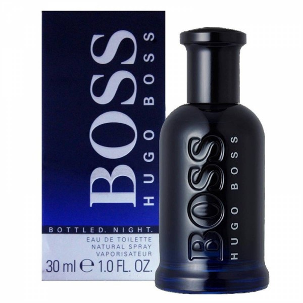 Hugo boss bottled night eau de toilette 30ml vaporizador