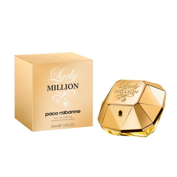 Paco rabanne lady milion eau de parfum 50ml vaporizador
