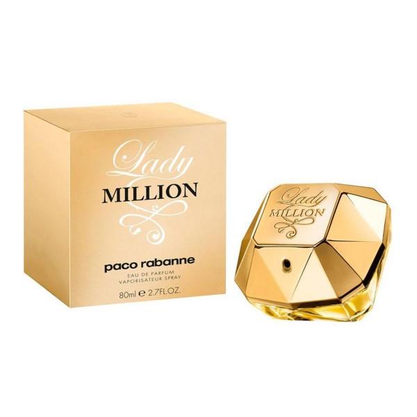 Paco rabanne lady milion eau de parfum 80ml vaporizador