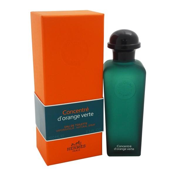 Hermes paris eau d'orange verte concentrado eau de toilette 100ml vaporizador
