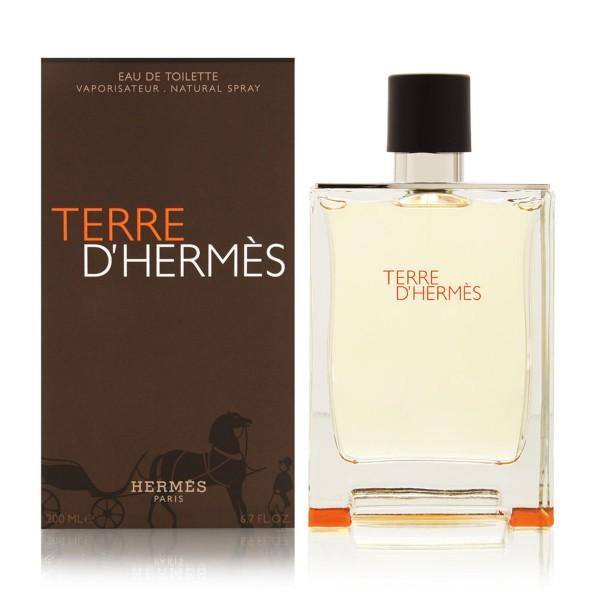 Hermes paris terre d'hermes eau de toilette 200ml vaporizador
