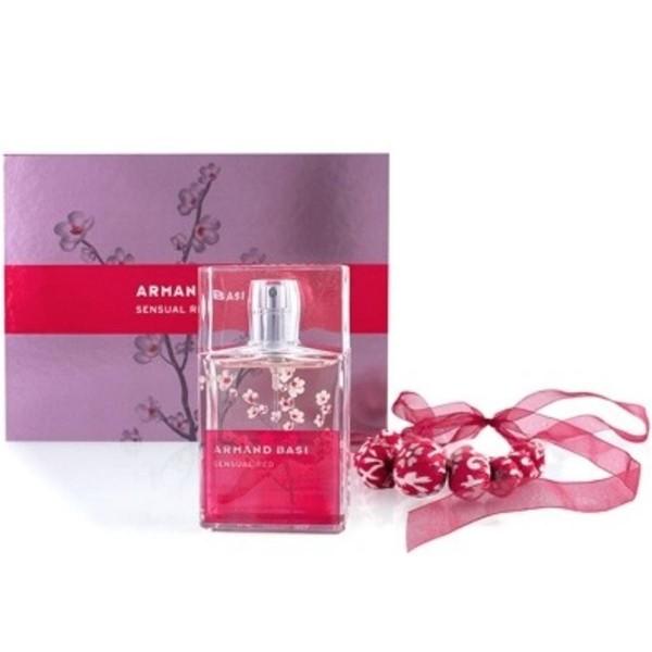 Armand basi sensual red eau de toilette 50ml vaporizador + collar
