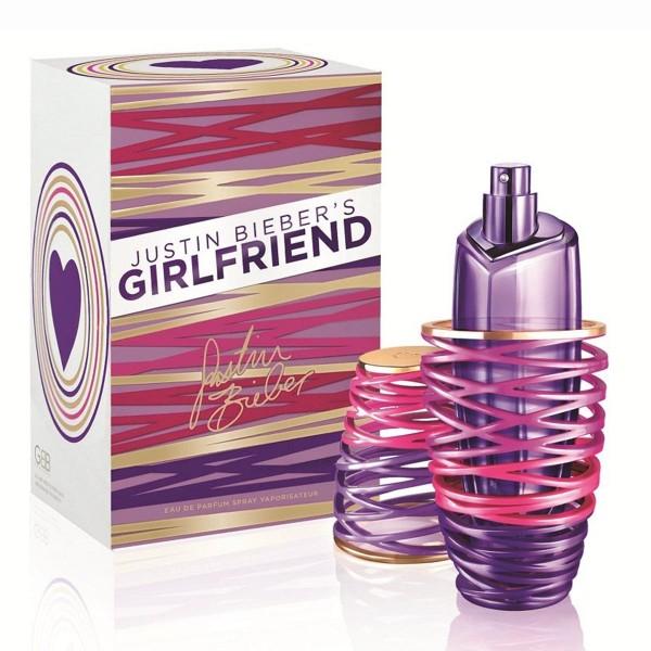 Justin bieber girlfriend eau de parfum 100ml vaporizador