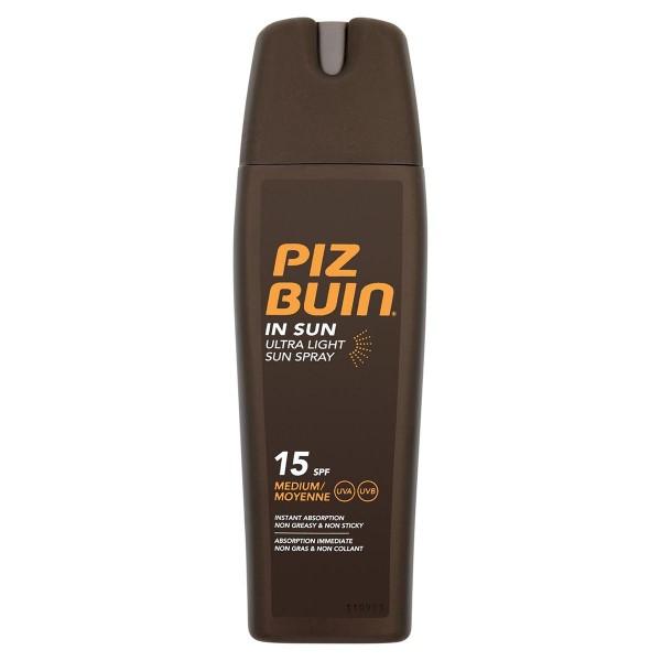 Piz buin in sun ultra light sun spray spf15 200ml