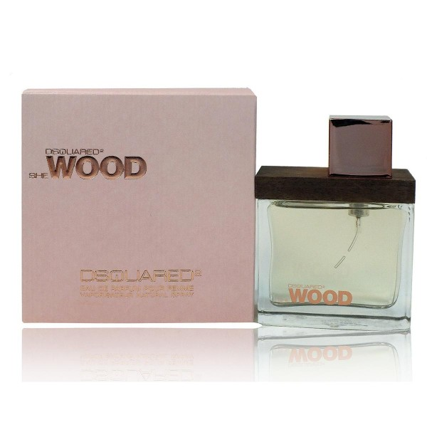 Dsquared she wood eau de parfum 50ml vaporizador