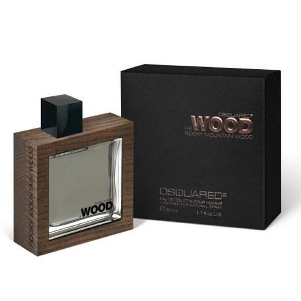 Dsquared he wood rocky mountain wood eau de toilette 50ml vaporizador