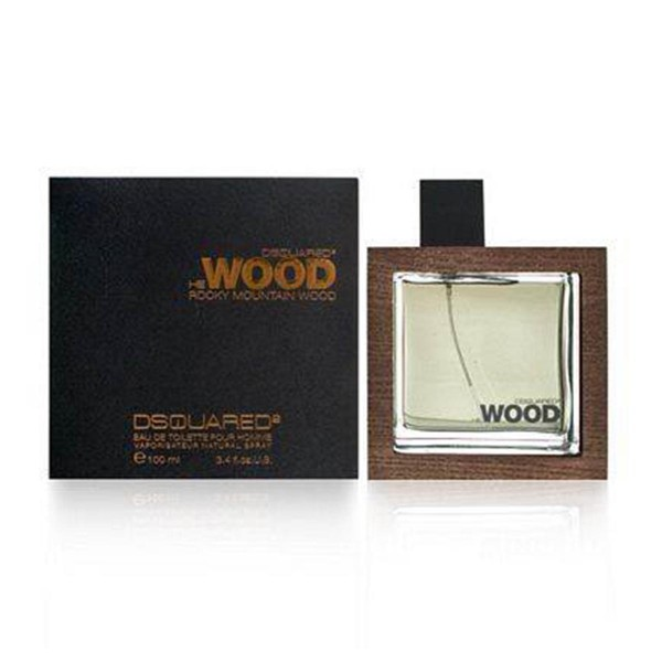 Dsquared he wood rocky mountain wood eau de toilette 100ml vaporizador