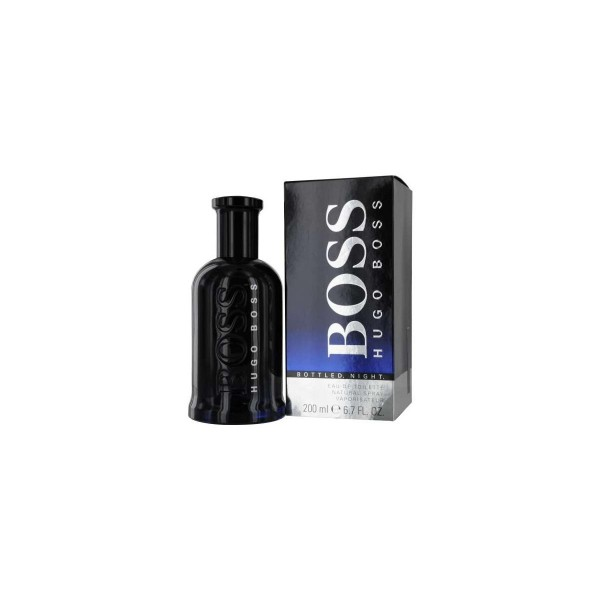 Hugo boss bottled night eau de toilette 200ml vaporizador
