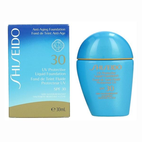 Shiseido un protective base spf30 30ml medium beige