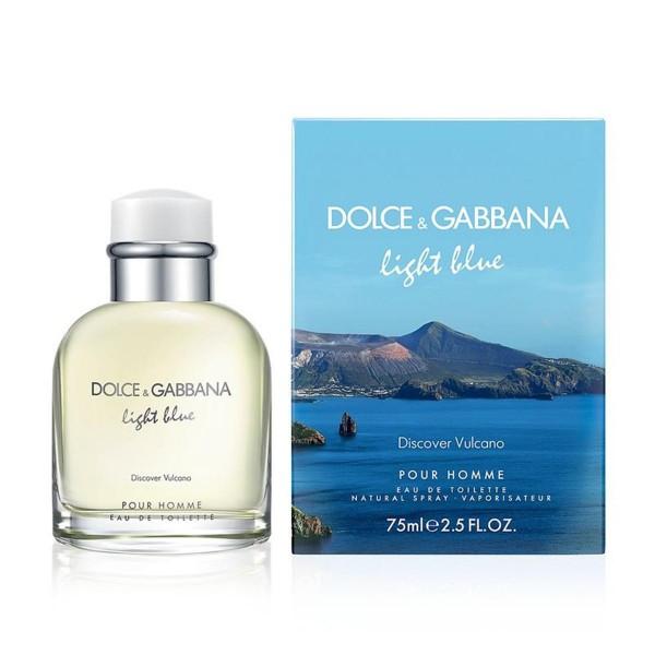 Dolce & gabbana light blue discover vulcano eau de toilette pour homme 75ml vaporizador