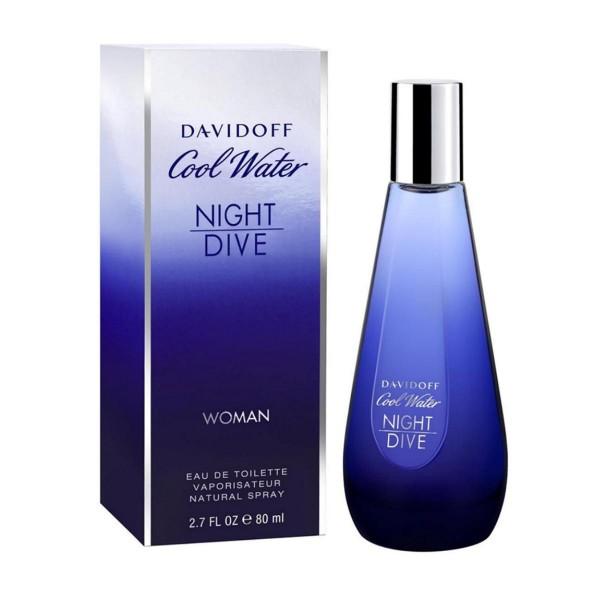 Davidoff cool water night dive eau de toilette woman 80ml vaporizador