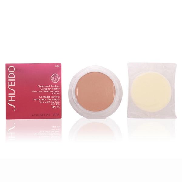 Shiseido sheer&perfect polvos compactos recarga b60