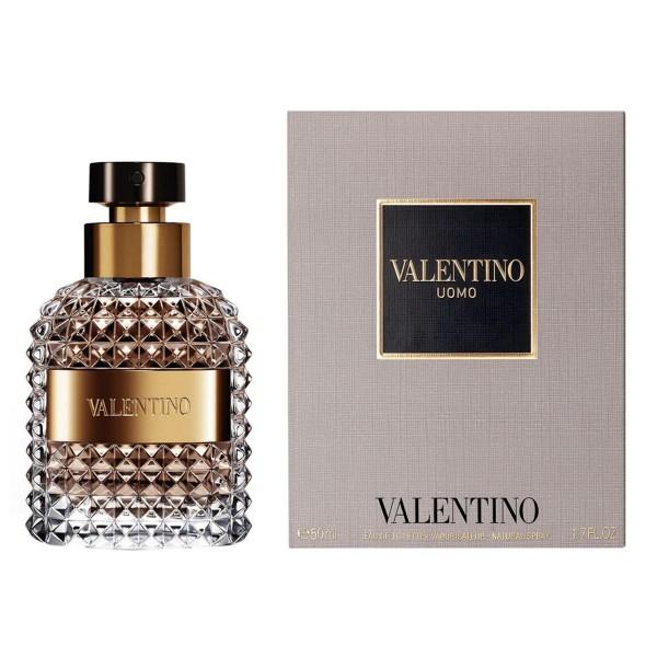 Valentino uomo eau de toilette 50ml vaporizador