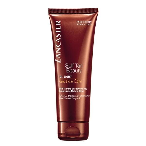 Lancaster self tan beauty gel autobronceador 01 light week end in capri 125ml