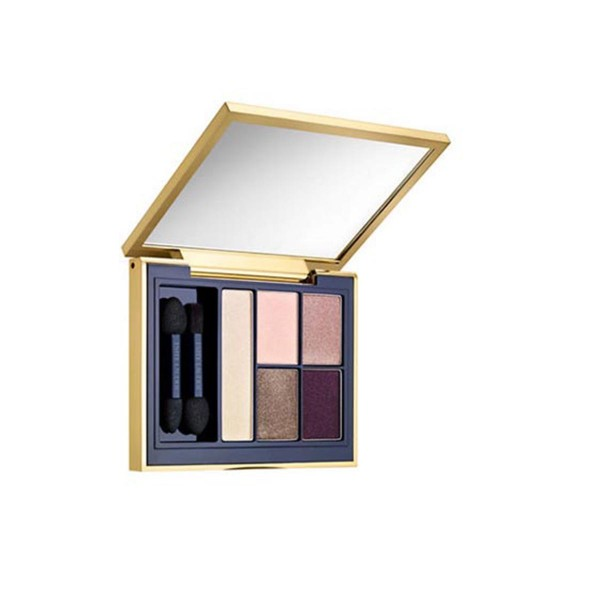 Estee lauder pure color envy sculpting sombra de ojos 5 color paleta 06 currant desire